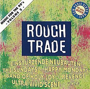 Rough Trade - Music For The 90's Vol. 2 - Cover
