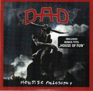 D-A-D: Monster Philosophy - Cover
