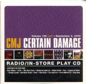Cover - Before Braille: CMJ - Certain Damage! Vol. 125