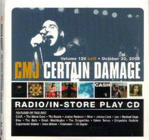 CMJ - Certain Damage! Vol. 126 - Cover