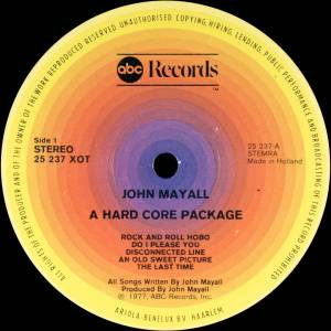 John Mayall: A Hard Core Package (LP) - Bild 3