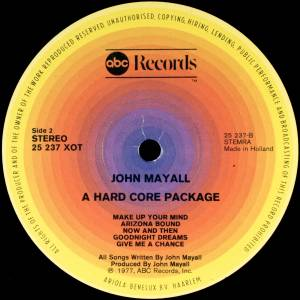 John Mayall: A Hard Core Package (LP) - Bild 4