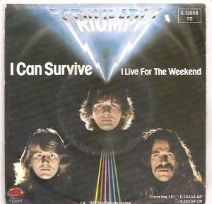 Triumph: I Can Survive - Cover