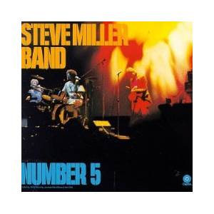 The Steve Miller Band: Number 5 - Cover
