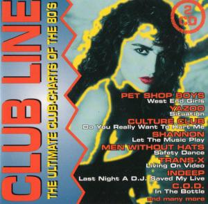 Club Line: The Ultimate Club-Charts Of The 80's - Cover
