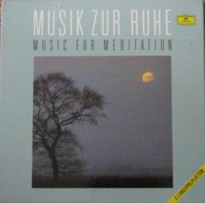 Musik Zur Ruhe - Music For Meditation - Cover