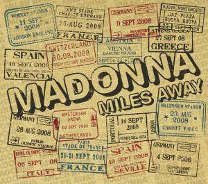 Madonna: Miles Away - Cover