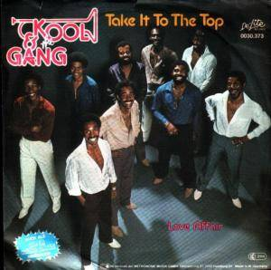 Kool & The Gang: Take It To The Top - Cover
