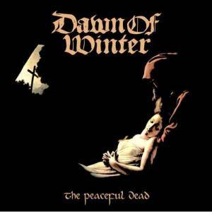 Dawn Of Winter: Peaceful Dead, The - Cover