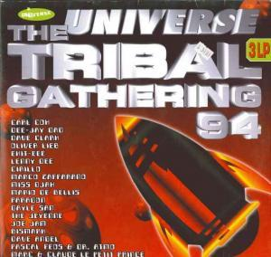 Universe Tribal Gathering 94, The - Cover