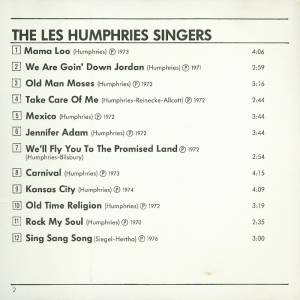 The Les Humphries Singers: Greatest Hits - The Les Humphries Singers (CD) - Bild 2