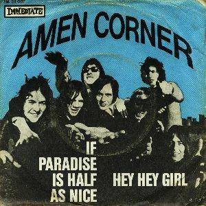 Amen Corner: If Paradise Is Half As Nice - Cover