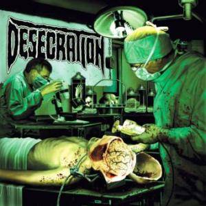 Cover - Desecration: Forensix