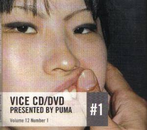 Vice CD/DVD #1 presented by Puma: Volume 12 Number 1 - Cover