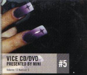 Vice CD/DVD #5 presented by Mini: Volume 12 Number 5 - Cover