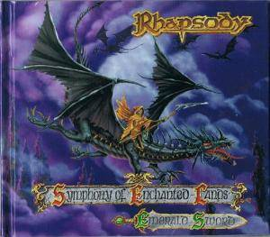 Rhapsody: Symphony Of Enchanted Lands & Emerald Sword - Cover