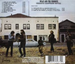 Creedence Clearwater Revival: Willy And The Poor Boys (CD) - Bild 2