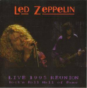 Cover - Jimmy Page & Robert Plant: Live 1995 Reunion
