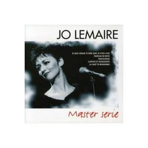 Cover - Jo Lemaire: Master Serie