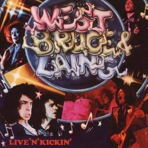 West, Bruce & Laing: Live 'n' Kickin' - Cover