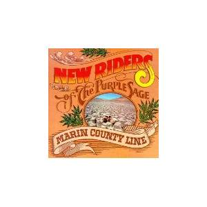 New Riders Of The Purple Sage: Marin County Line - Cover