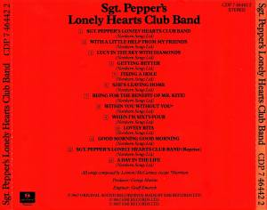 The Beatles: Sgt. Pepper's Lonely Hearts Club Band (CD) - Bild 8