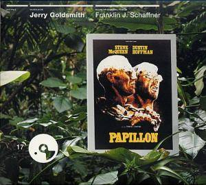 Jerry Goldsmith: Papillon - Cover