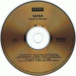 Satan: Court In The Act (CD) - Bild 3