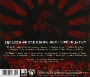 Arch Enemy: Tyrants Of The Rising Sun - Live In Japan (2-CD) - Bild 2
