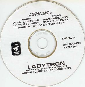 Ladytron: He Took Her To A Movie - Cover