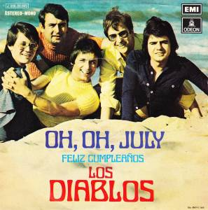 Cover - Los Diablos: Oh, Oh, July