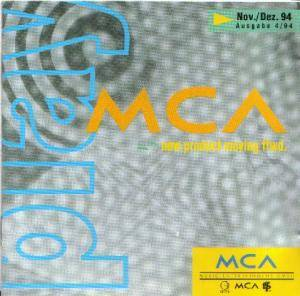 Play MCA Nov./Dez. 94 new product moving ffwd. - Cover
