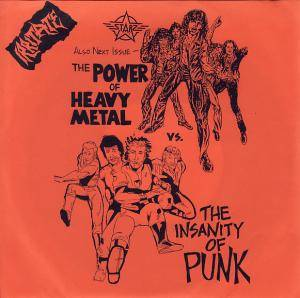Cover - Hated Principles: Power Of Heavy Metal Vs. The Insanity Of Punk, The