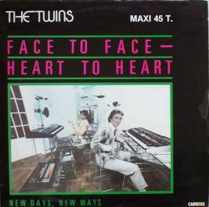 "The Twins: Face To Face - Heart To Heart (12"") - Bild 1"
