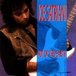 Joe Satriani: Not Of This Earth - Cover