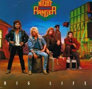 Cover - Night Ranger: Big Life