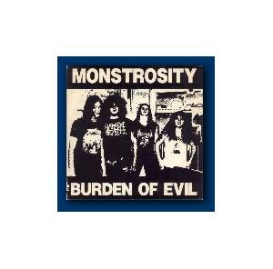 Cover - Monstrosity: Burden Of Evil