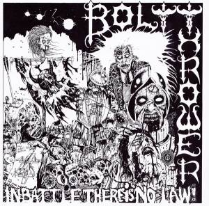 Cover - Bolt Thrower: In Battle There Is No Law