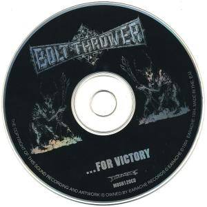 Bolt Thrower: ...For Victory (CD) - Bild 9