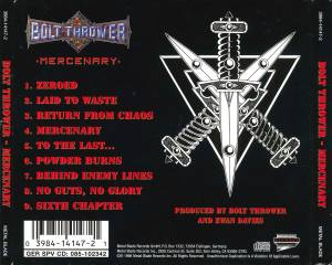 Bolt Thrower: Mercenary (CD) - Bild 6