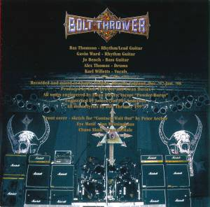 Bolt Thrower: Mercenary (CD) - Bild 10