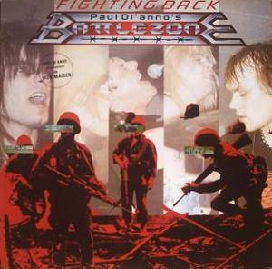 Paul Di'Anno's Battlezone: Fighting Back - Cover