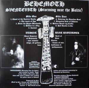 Behemoth: Sventevith (Storming Near The Baltic) (LP) - Bild 2