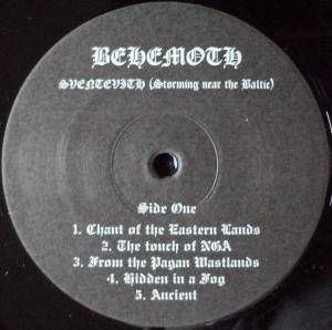 Behemoth: Sventevith (Storming Near The Baltic) (LP) - Bild 3