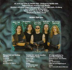 Sacred Steel: Reborn In Steel (CD) - Bild 2