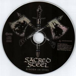 Sacred Steel: Reborn In Steel (CD) - Bild 5