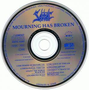 Sabbat: Mourning Has Broken (CD) - Bild 3