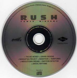 Rush: Power Windows (CD) - Bild 3