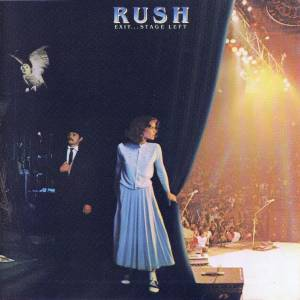 Rush: Exit... Stage Left - Cover