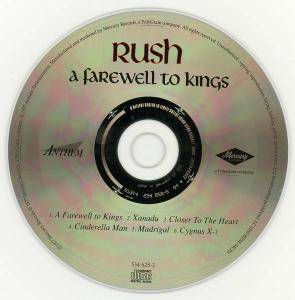 Rush: A Farewell To Kings (CD) - Bild 3